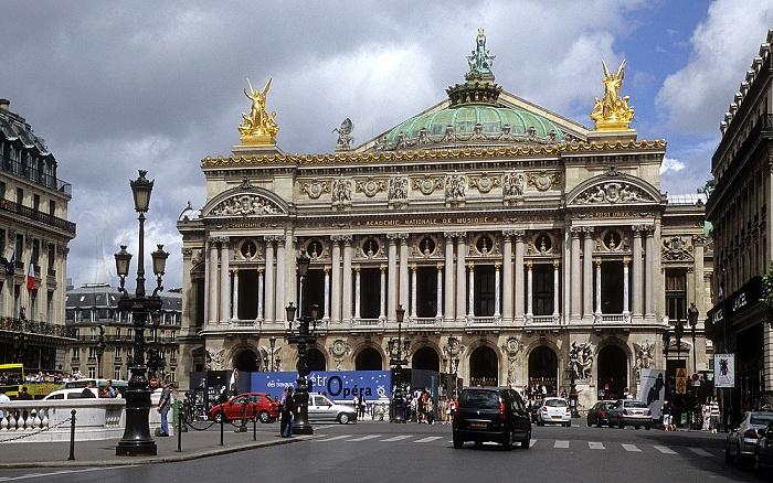Place de l'Opéra, Opéra Garnier Paris 2008