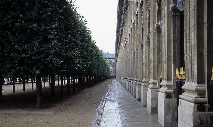Paris Jardin du Palais Royal, Palais Royal