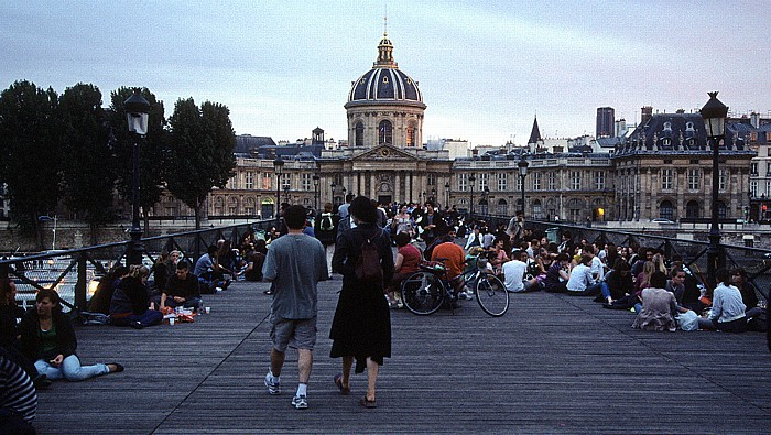 Paris Pont des Arts, Institut de France
