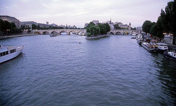 Paris Seine, Pont Neuf, Île de la Cité