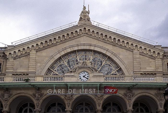 Gare de l'Est (Embarcardère de Strasbourg) Paris 2008