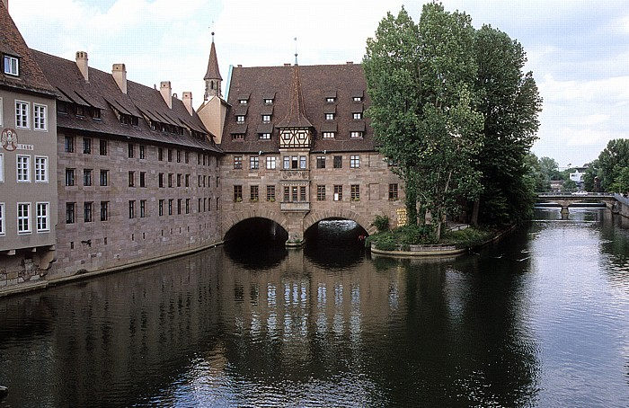 Nürnberg Heilig-Geist-Spital, Pegnitz