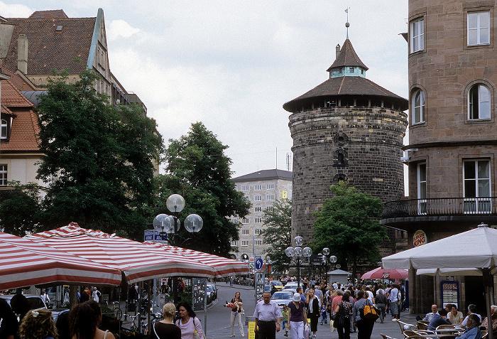 Nürnberg Königstraße, Frauentorturm