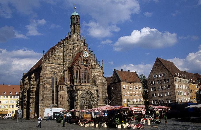 Nürnberg Hauptmarkt, Frauenkirche