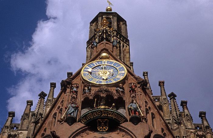Nürnberg Frauenkirche: Männleinlaufen