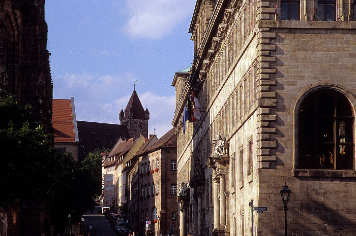 Nürnberg Burgstraße, Rathaus