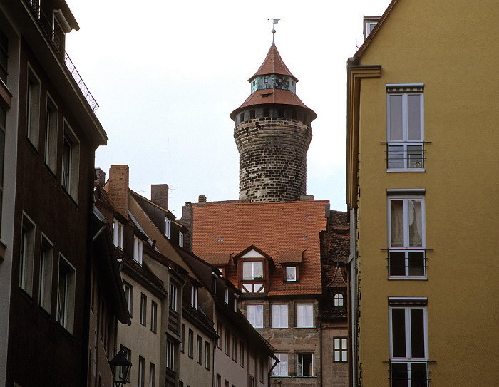 Nürnberg Kaiserburg: Sinnwellturm Burg