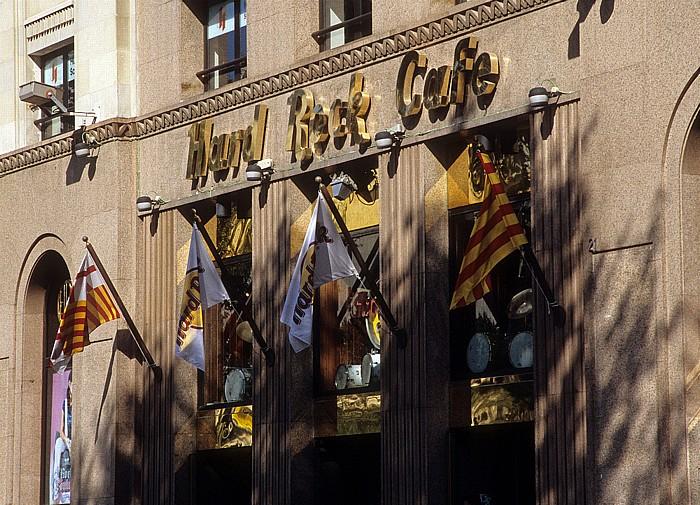 Plaça Catalunya: Hard Rock Cafe Barcelona
