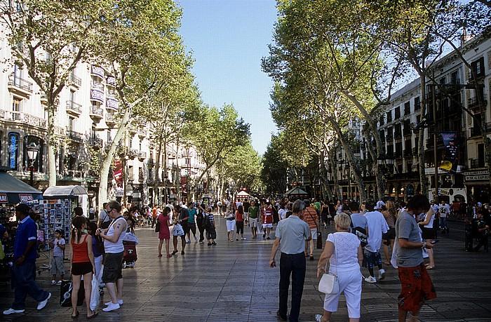 La Rambla (Rambla dels Estudis) Barcelona