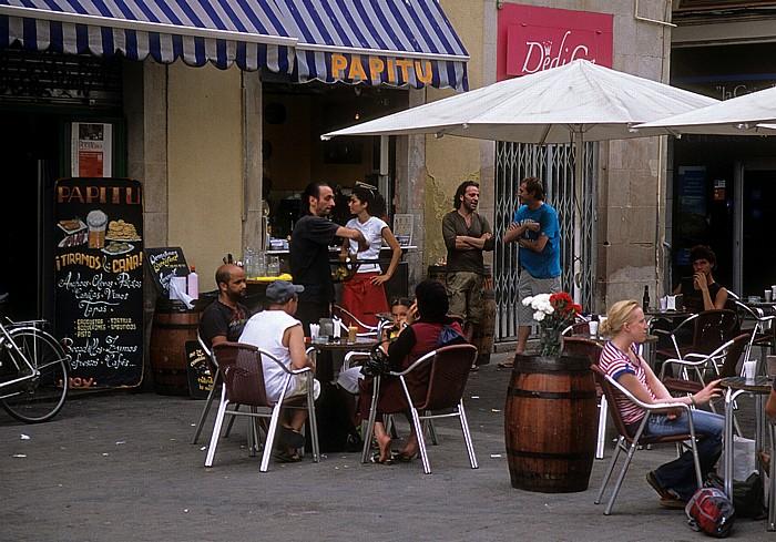 Ciutat Vella (El Raval): Plaça de Sant Josep Barcelona