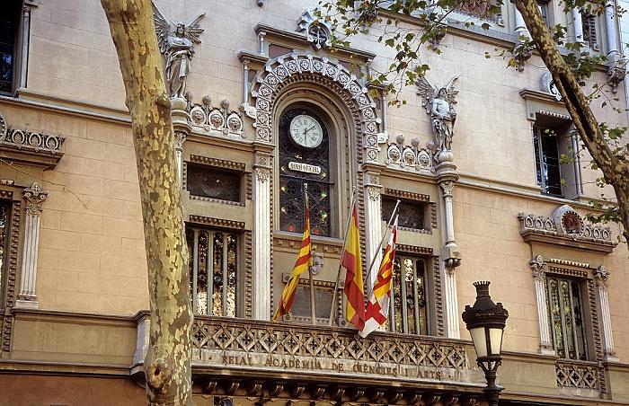 Ciutat Vella (El Raval): Reial Academia de Ciencies i Arts Barcelona