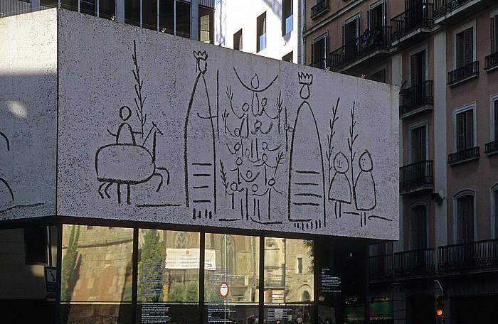Barri Gòtic: Col·legi d'Arquitectes de Catalunya Barcelona