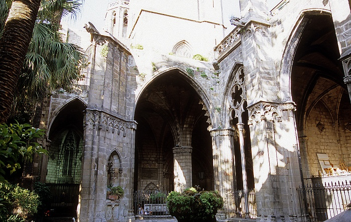 Kathedrale (La Catedral): Kreuzgang Barcelona