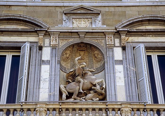 Barri Gòtic: Palau de la Generalitat Barcelona