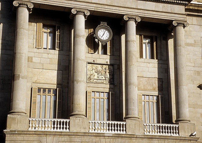 Barri Gòtic: Rathaus (Ayuntamiento Barcelona) Barcelona