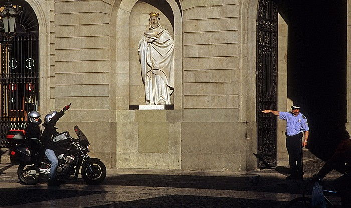 Barri Gòtic: Plaça de Sant Jaume Barcelona