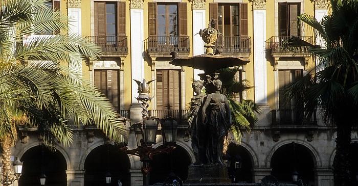 Barri Gòtic: Plaça Reial Barcelona
