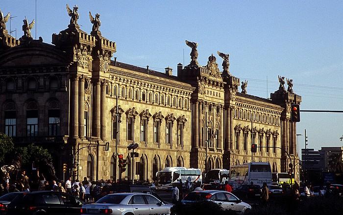 Palacio de la Aduana (Zollgebäude) Barcelona