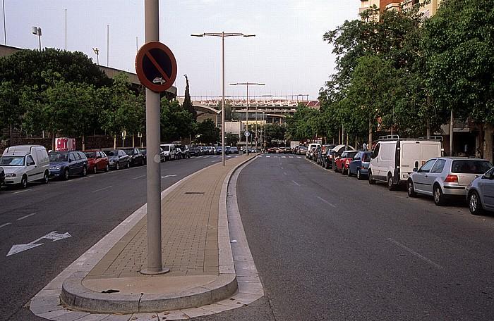 Carrer del Cardenal Reig Barcelona