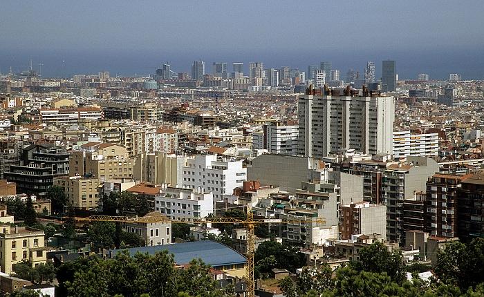 Barcelona Blick vom Parc Güell