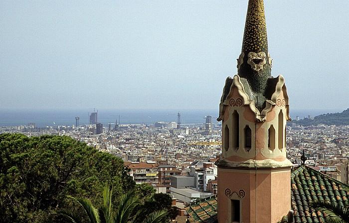 Parc Güell: Turm des Museu Casa Gaudí Barcelona