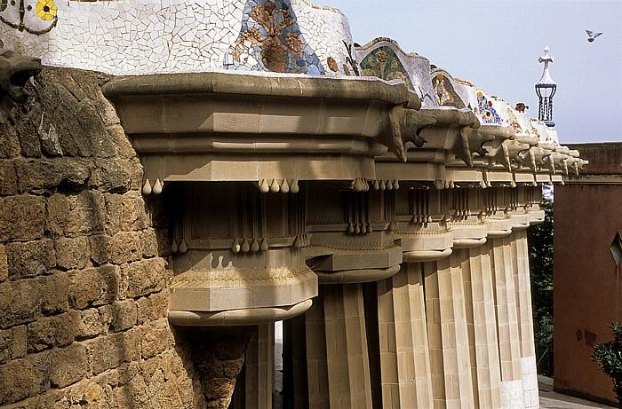 Parc Güell: Schlangenbank und Sala Hippostila Barcelona