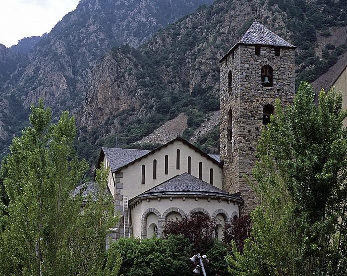 Andorra la Vella Kirche Sant Esteve