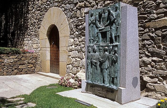 Andorra la Vella Casa de la Vall: Denkmal 700 Jahre Pareatges
