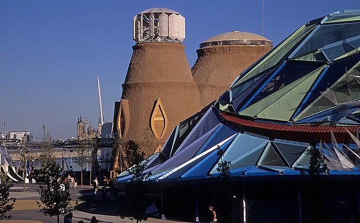 Saragossa EXPO Zaragoza 2008 Basílica del Pilar Ebro Eisberg Pasarela del Voluntariado