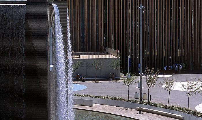 Saragossa EXPO Zaragoza 2008: Fluss-Aquarium (Acuario fluvial), Spanischer Pavillon (Pabellón de España)
