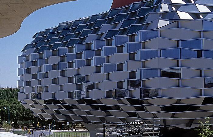Saragossa EXPO Zaragoza 2008: Aragonesischer Pavillon (Pabellón de Aragón)