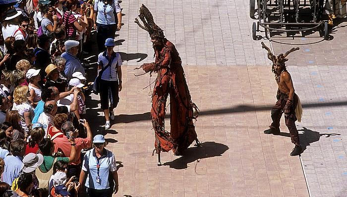 Saragossa EXPO Zaragoza 2008: Das Erwachen der Schlange des Cirque du Soleil
