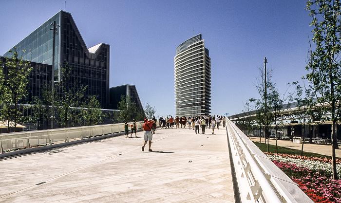 Saragossa EXPO Zaragoza 2008: Wasserturm (Torre del Agua) Kongresszentrum