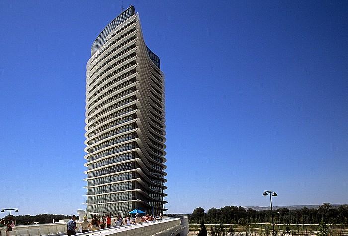 Saragossa EXPO Zaragoza 2008: Wasserturm (Torre del Agua)