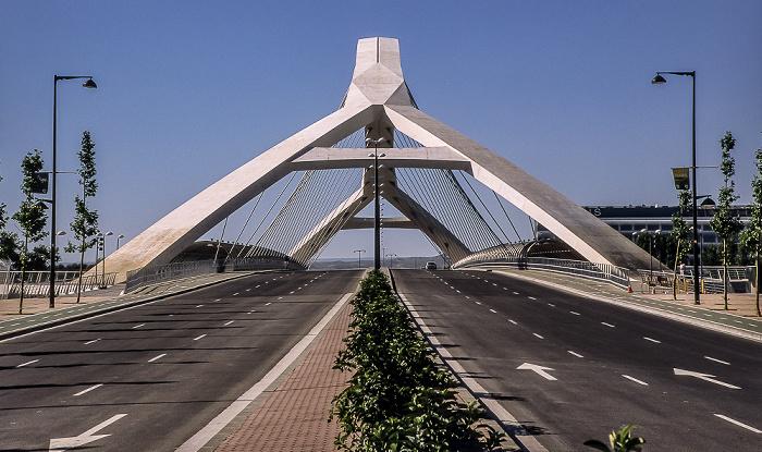 Saragossa Brücke des Dritten Jahrtausends (Puente del Tercer Milenio)