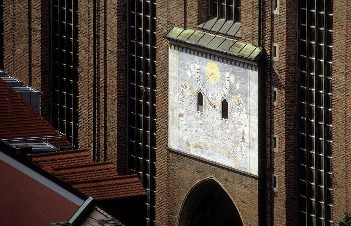 Blick vom Rathausturm (Neues Rathaus): Frauenkirche München