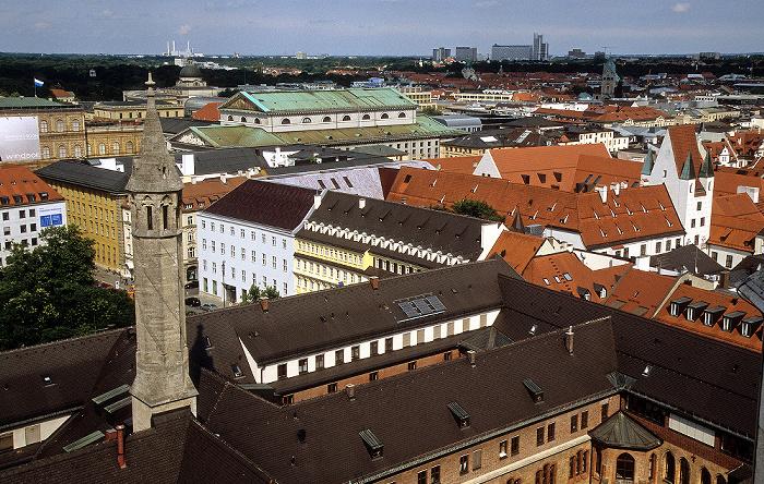 Blick vom Rathausturm (Neues Rathaus) München 2008