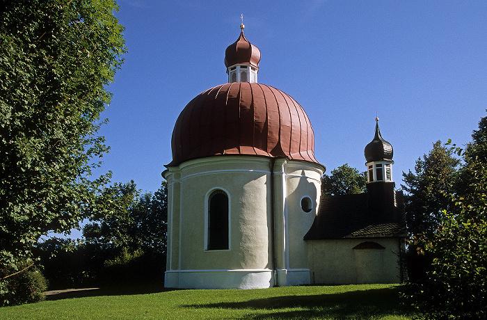 Iffeldorf Heuwinklkapelle (Wallfahrtskirche zu Unserer Lieben Frau)