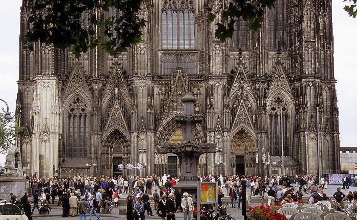 Kölner Dom (Hohe Domkirche St. Peter und Maria): Westfassade