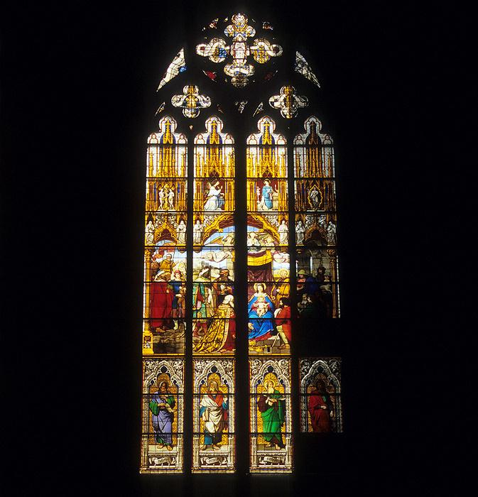 Kölner Dom (Hohe Domkirche St. Peter und Maria): Anbetungsfenster