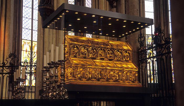Kölner Dom (Hohe Domkirche St. Peter und Maria): Dreikönigenschrein