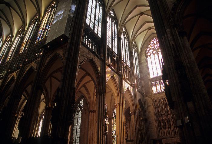 Kölner Dom (Hohe Domkirche St. Peter und Maria): Chor, Querschiff