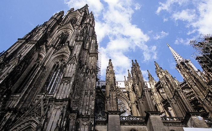 Kölner Dom (Hohe Domkirche St. Peter und Maria): Südfassade