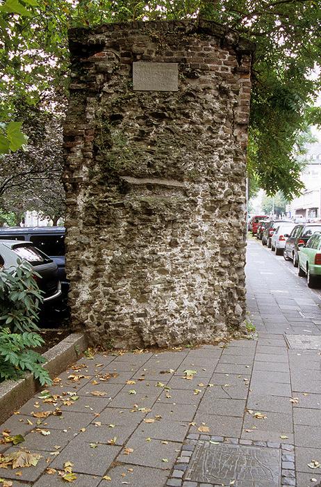 Köln Römische Stadtmauer