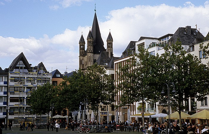 Köln Heumarkt Groß St. Martin