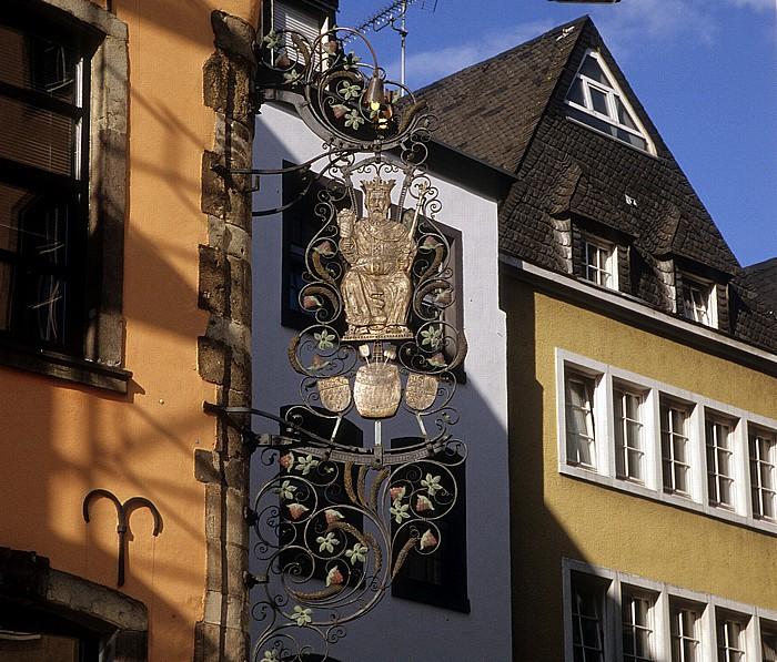 Köln Heumarkt: Brauerei zum Pfaffen