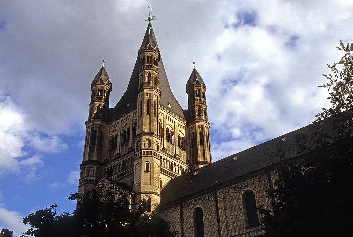 Köln Altstadt: Groß St. Martin