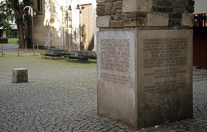 Köln Altstadt: Schmitz-Säule Groß St. Martin
