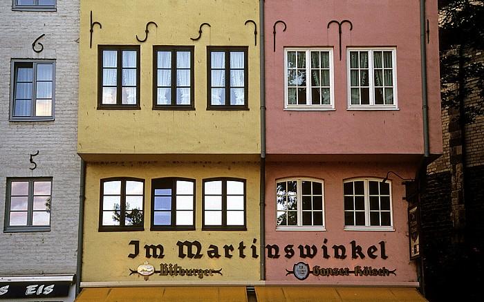 Köln Altstadt: Im Martinswinkel