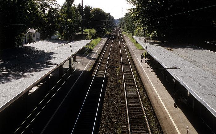Haan Bahnhof, Bahnstrecke Wuppertal - Köln
